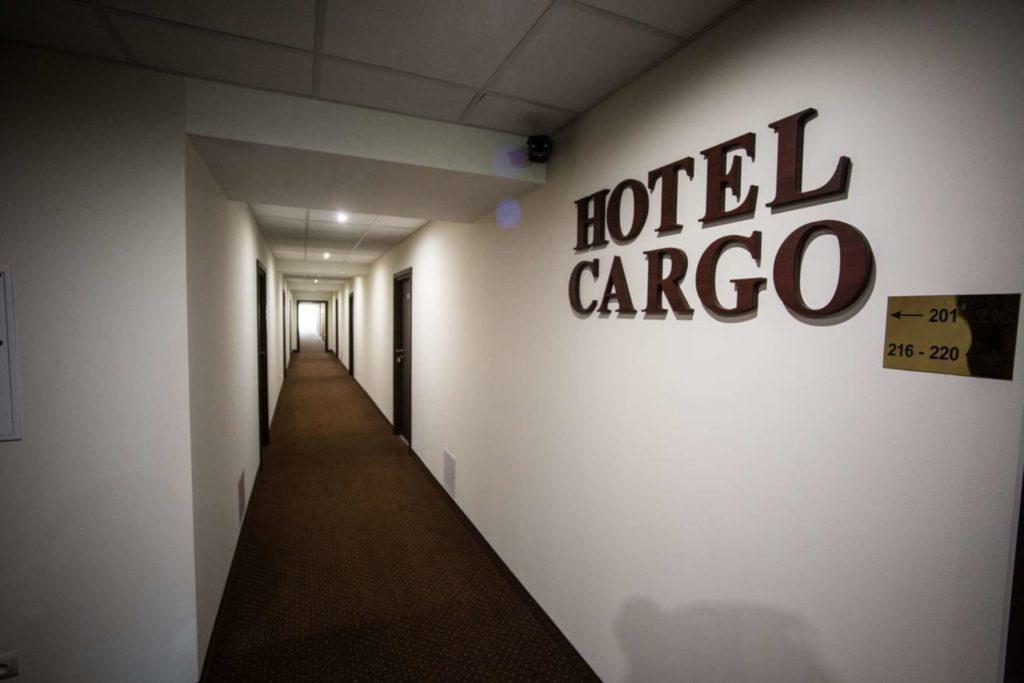 korytarz hotel cargo